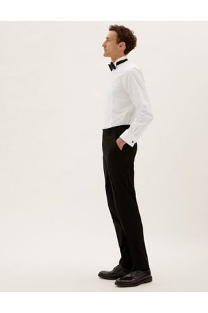 Marks & Spencer Tailored Fit Pure Cotton Dinner Shirt