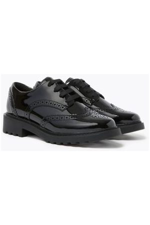 Kids' Leather Brogue School Shoes (13 Small
