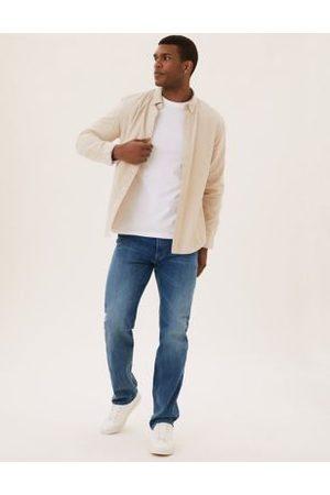 Marks & Spencer Straight Vintage Wash Stretch Jeans