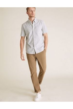 Marks & Spencer Slim Fit Organic Cotton Ultimate Chinos