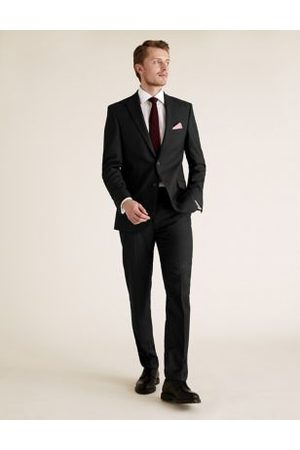 Marks & Spencer Tailored Fit Trousers with Stretch