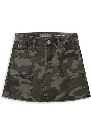 DL1961 DL1961 Premium Denim Little Girl's & Girl's Jenny Camouflage Mini Skirt