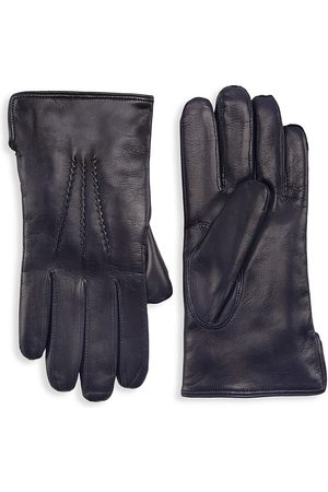 Saks Fifth Avenue COLLECTION Nappa Leather & Cashmere Gloves