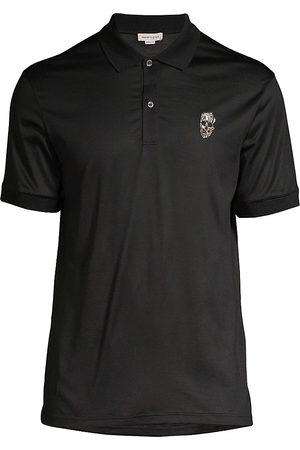 Alexander McQueen Skull Badge Polo Shirt