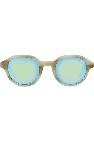 Berluti 49MM Eclipse Round Sunglasses
