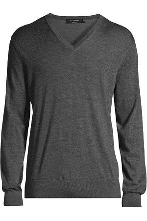 Ermenegildo Zegna Cashseta V-Neck Sweater
