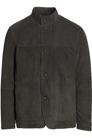 Z Zegna Suede Jacket