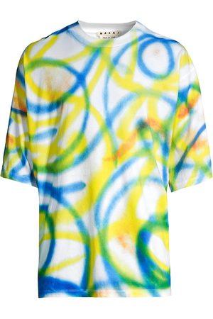 Marni K-Scribble Spray Motif T-Shirt
