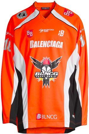 Balenciaga Long-Sleeve Hockey T-Shirt