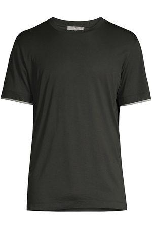 CANALI Cotton Crewneck T-Shirt