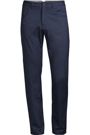 CANALI Straight-Leg Wool Trousers