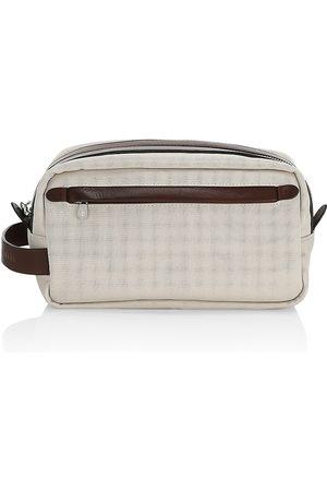Brunello Cucinelli Nylon & Leather Toiletry Kit