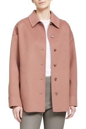 THEORY Wool-Cashmere Shirt Jacket