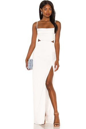 Nookie Women Evening dresses - Stella Cut Out Gown in Ivory.