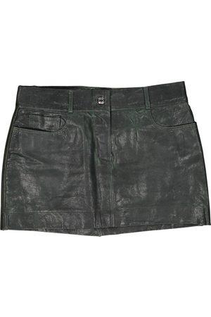 Dolce & Gabbana Leather mini skirt