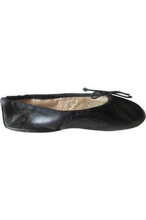 E Porselli Leather ballet flats