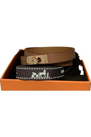Hermès Mini Kelly leather bracelet