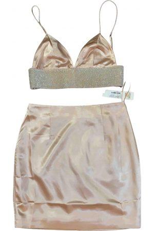 MESHKI Silk skirt