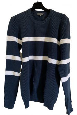 Le Bon Marché Navy Cotton Knitwear & Sweatshirts