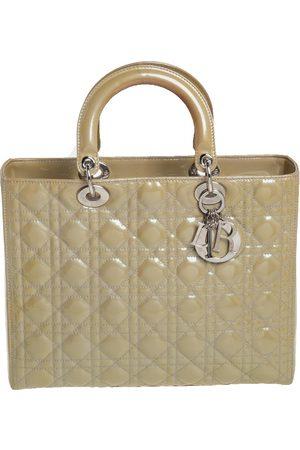 Dior Lady patent leather handbag