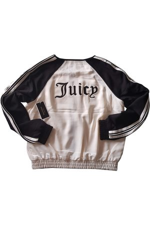 Juicy Couture Ecru Polyester Leather Jackets