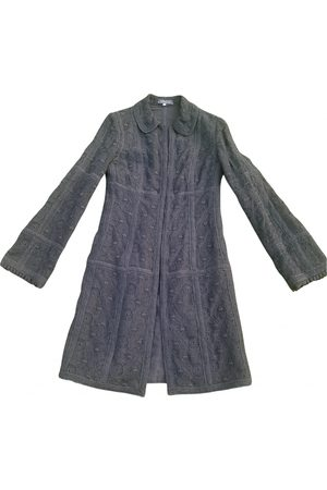 ANDREW GN Wool trench coat