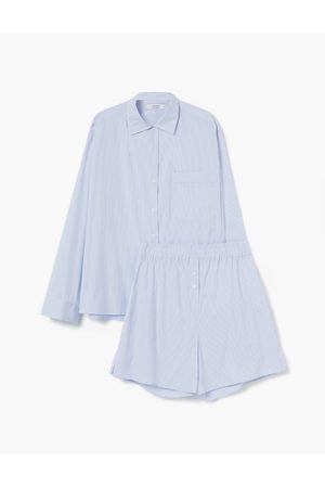A LINE Dream Stripes Pyjama Set
