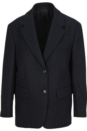 Prada Pinstripe wool single-breasted blazer