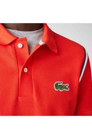 """Lacoste """"Made in France"""" Regular Fit Organic Cotton Polo Shirt"""