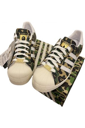 AAPE BY A BATHING APE Leather low trainers