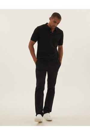 M&S Collection Cotton Textured Polo Shirt