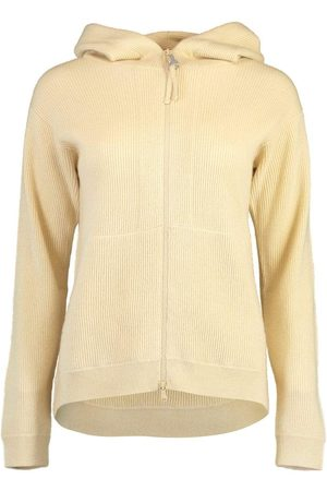 Brunello Cucinelli English Ribbed Hooded Zip Up