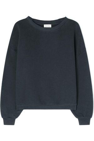 American Vintage Ikatown Cotton Mix Sweatshirt - Storm