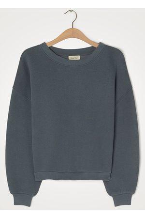 American Vintage Ikatown Storm Grey Sweatshirt
