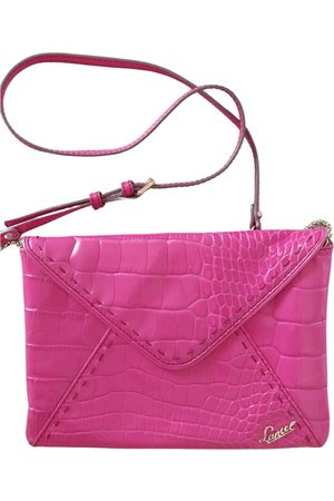 LANCEL Leather clutch bag