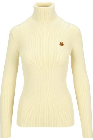 Kenzo Tiger Crest roll-neck sweater