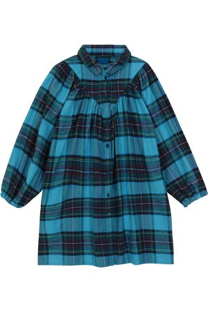 MORLEY Oval Clan checked cotton shirt dress