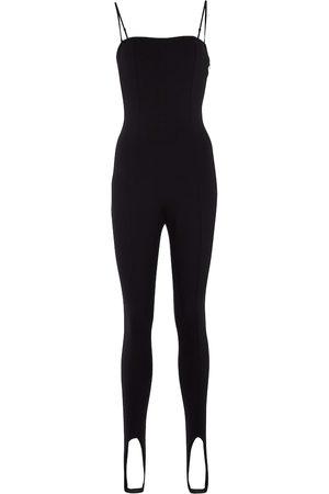 Wolford X Amina Muaddi jersey jumpsuit