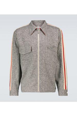 Wales Bonner Charlie zipped blouson jacket