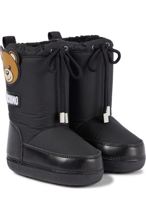 Moschino Snow Boots - Shearling-lined snow boots