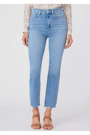 Paige Cindy Ultra High Rise Straight Leg Jeans - Lovesong