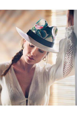 Nadia C Watermelon Panama Hat