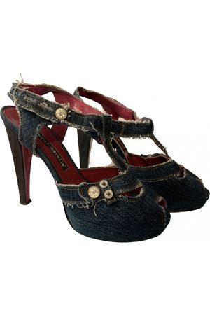 FRANKIE MORELLO Cloth sandals