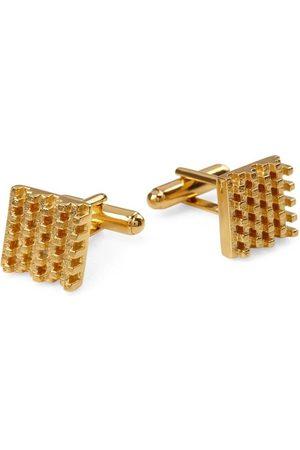 Jewel Tree London Men Cufflinks - Hive Cufflinks