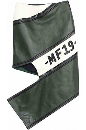 MONSE Leather mini skirt