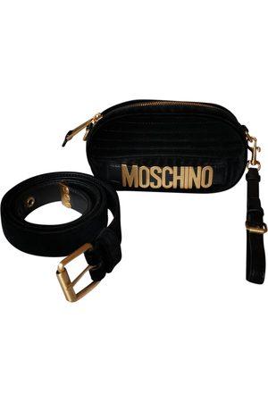 Moschino Velvet Clutch Bags