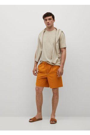 MANGO Jogger cotton Bermuda shorts