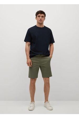 MANGO Chino Bermuda shorts