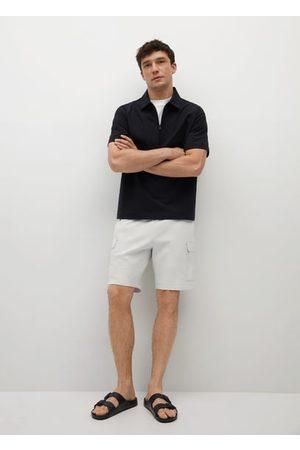 MANGO Cargo Bermuda shorts