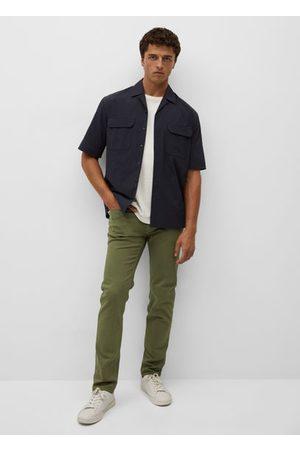 MANGO Slim-fit colored jeans
